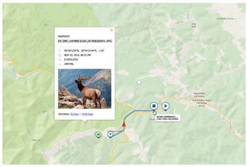 Vision nocturna con geolocalizacion GPS