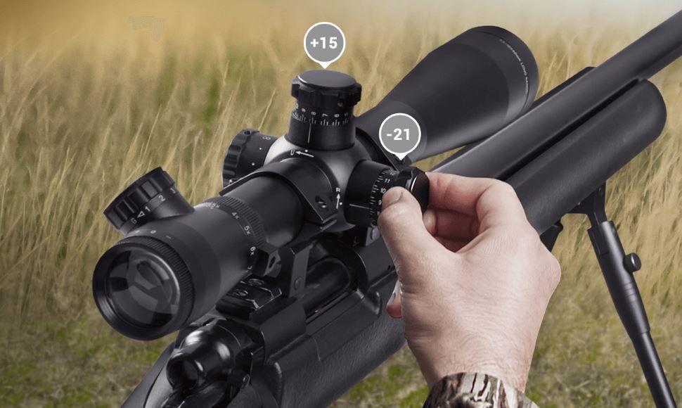 telemetro laser atn con correccion balistica para todos los visores del mercado clasicos de caza